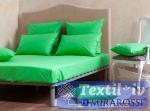 Комплект из простыни на резинке и наволочек Mirarossi Green