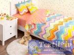 Детское постельное белье Хлопковый Край Zigzag Orange