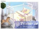 Постельное белье для новорожденных Valtery Сонный мишка
