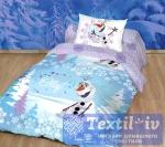 Детское постельное белье Волшебная ночь Disney Олаф зима