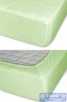 Простыня на резинке Cleo 08, салатовый