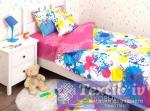 Детское постельное белье Хлопковый Край Happy Pink