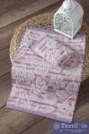 Полотенце кухонное Karna Mariposa, розовый