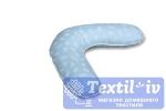 Подушка для беременных AlViTek Б-ТХ форма Бумеранг