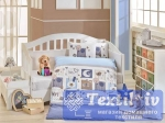 Постельное белье для новорожденных Hobby Sweet Home, синий
