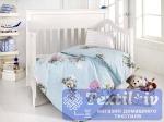 Постельное белье для новорожденных Altinbasak Yumak, голубой
