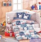 Комплект в кроватку Hobby Snoopy, синий