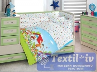 Постельное белье для новорожденных Altinbasak Happy kids, голубой