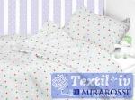 Постельное белье для новорожденных Mirarossi Stelle grey