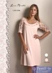 Сорочка ночная Luisa Moretti LMS-2006, кремовый