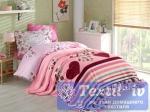 Постельное белье с покрывалом Hobby Bella, лиловый