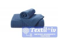 Полотенце Aquarelle Волна, темно-синий