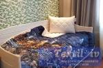 Комплект из одеяла-покрывала и подушки Natures Вечерний город
