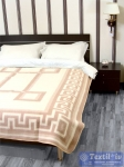 Одеяло Vladi Греция Хлопок всесезонное, бел/беж