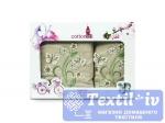 Набор полотенец Cottonist 3D Kadife 8414-13