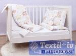 Постельное белье для новорожденных Mirarossi lamore e white