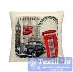 Декоративная подушка Волшебная Ночь Лондон
