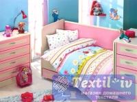 Постельное белье для новорожденных Altinbasak Gulucuk, розовый