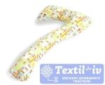 Наволочка на подушку для беременных Легкие Сны Детский форма 7, поплин