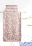 Полотенце Aquarelle Форест вид 1, мокко - светло-бежевый