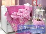 Постельное белье для новорожденных Hobby Little Sheep, розовый
