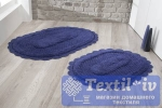 Набор ковриков для ванной Modalin Lokal, синий