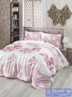 Постельное белье Altinbasak Guldem, розовый