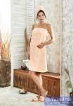 Набор для сауны женский Karna Paris, абрикосовый