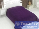 Покрывало-простыня махровая Karna Rebeka, фиолетовый