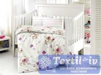 Постельное белье для новорожденных Altinbasak Puffy, кремовый