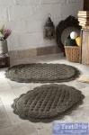 Набор ковриков для ванной Modalin Merit, темно-коричневый