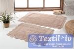 Набор ковриков для ванной Modalin Evora, бежевый