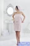 Набор для сауны женский Karna Pera, розовый