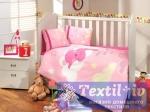 Постельное белье для новорожденных Hobby Sleeper, розовое