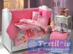Постельное белье для новорожденных Hobby City Girl, розовое
