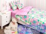Детское постельное белье Хлопковый Край Geometry Pink
