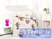 Постельное белье для новорожденных Altinbasak Kuzucuk, розовый
