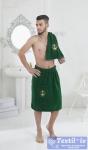 Набор для сауны мужской Karna Pamir, зеленый
