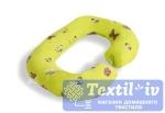 Наволочка на подушку для беременных Легкие Сны Бабочки форма Rogal, поплин