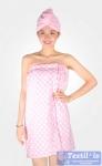 Набор для сауны женский Valtery, розовый