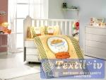 Постельное белье для новорожденных Hobby Bambam, желтое