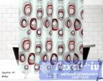 Шторы для ванной Evdy Drop V14