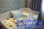 Комплект из одеяла-покрывала и подушки Natures Яркие цветы