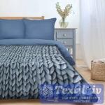 Постельное белье Этель Мягкие сны, синий