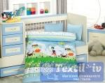 Постельное белье для новорожденных Altinbasak Tini Mini