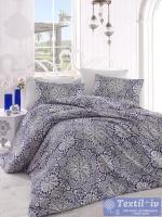 Постельное белье Altinbasak Rozi, синий