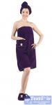 Набор для сауны женский Karna Paris, фиолетовый