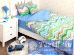 Детское постельное белье Хлопковый Край Zigzag Green