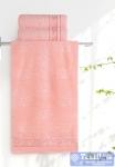 Полотенце Aquarelle Лотос, розово-персиковый