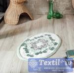 Коврик для ванной Modalin Vera, зеленый